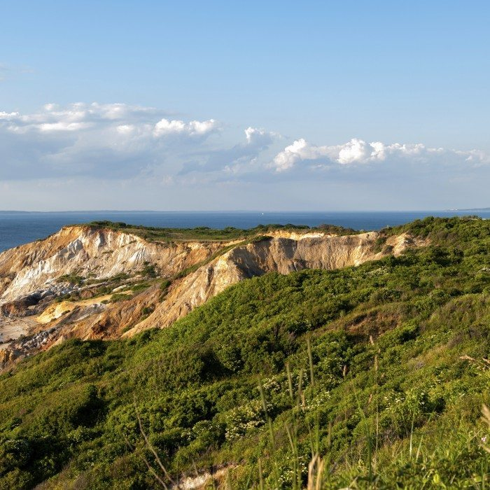 Gay Head Light and Aquinnah Cliffs at Martha's Vineyard