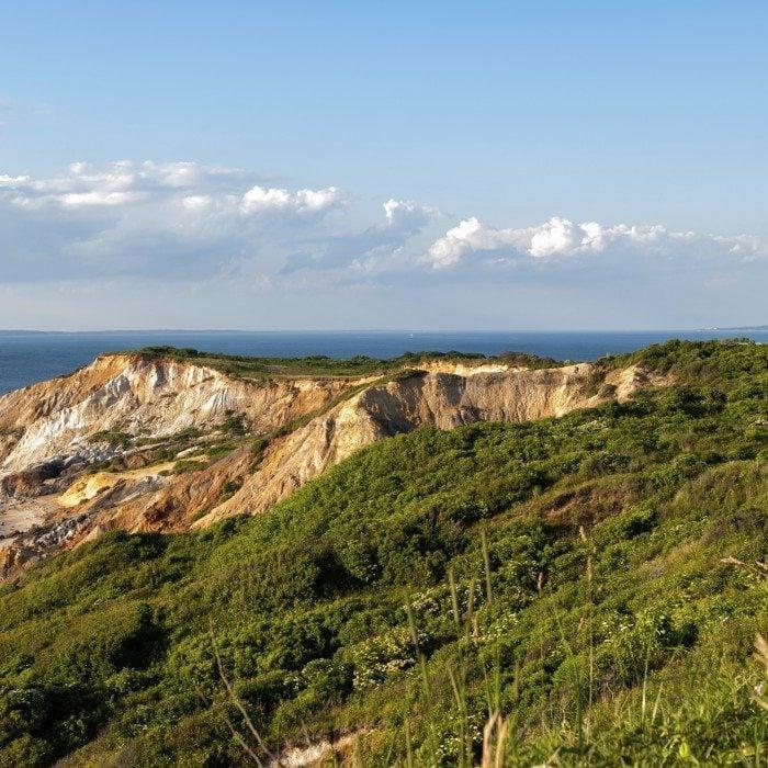 Gay Head Light and Aquinnah Cliffs at Martha's Vineyard
