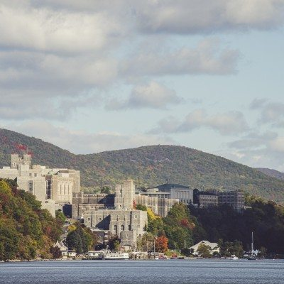 Approaching West Point on the Hudson