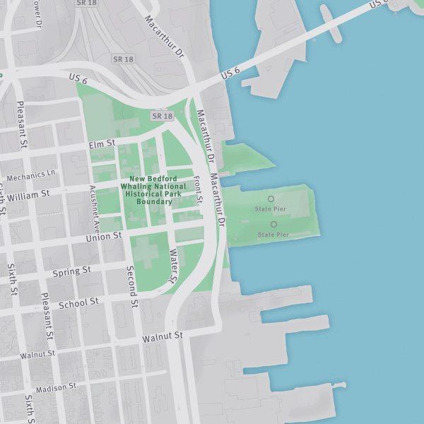 New Bedford MA Port Seastreak Ferries