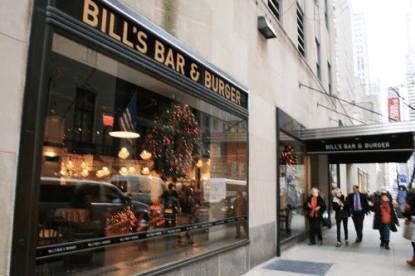 Bill's Bar and Burger 1