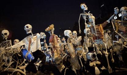Village Halloween Parade 1