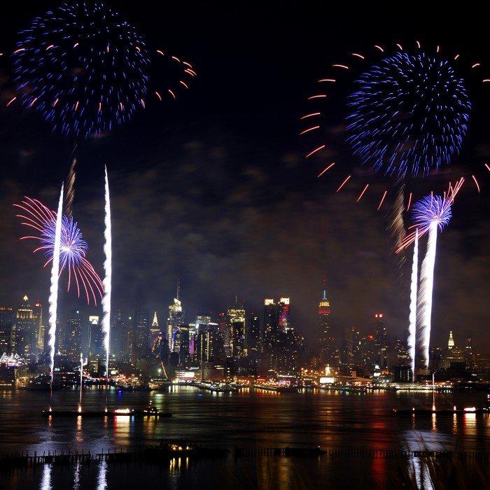 New York City fireworks show