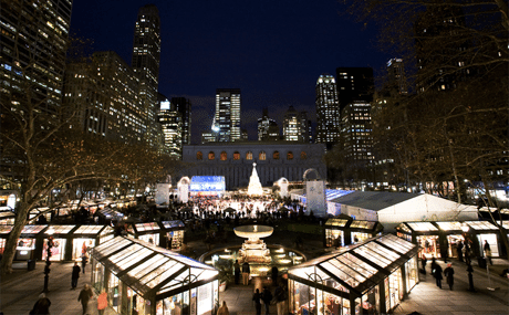 Holiday Shops Bryant Park 1
