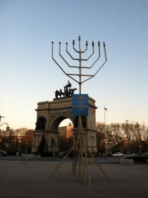 Menorah Lighting 1