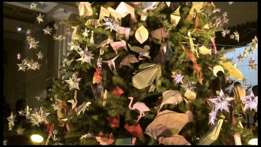 Origami Tree 3