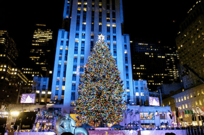 Rockefeller X-mas Tree Lighting 1