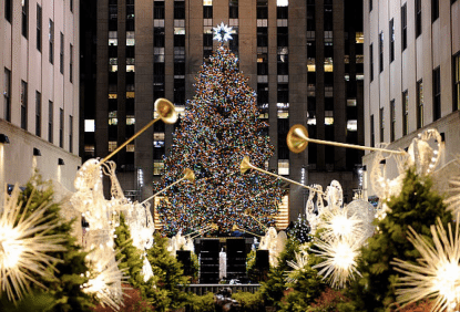Rockefeller X-mas Tree Lighting 2
